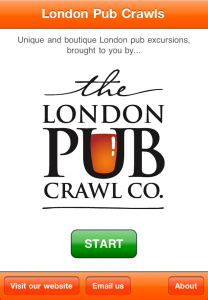 app for London pubs